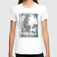 tropical T-shirts featuring tropical by ulas okuyucu