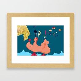 Wanderers bargain Framed Art Print