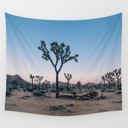 Joshua Tree at Sunset Wall Tapestry