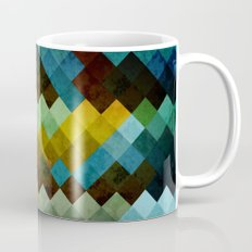 Abstract Cubes BYG Mug
