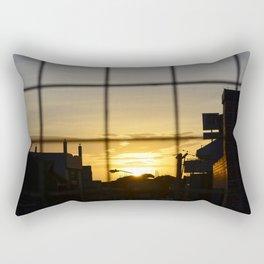 Urban Sunset Rectangular Pillow