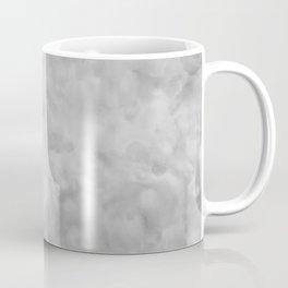 Soft Gray Clouds Texture Coffee Mug
