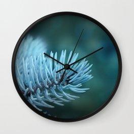 Blue spruce 2 Wall Clock
