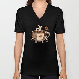 Coffeezilla X-ray Unisex V-Neck