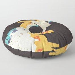 A CBS Special Presentation Floor Pillow