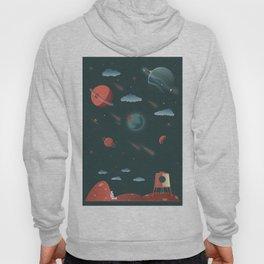 Moon Poster Hoody