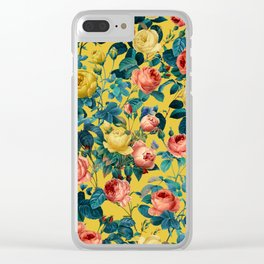 Summer Botanical Garden X Clear iPhone Case