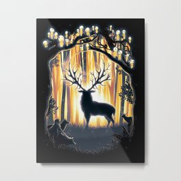 Master of the Forest Metal Print