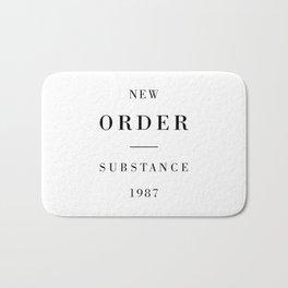 New Order Substance 1987 Bath Mat