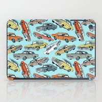 muscle iPad Cases featuring Muscle Cars by Mario Zucca