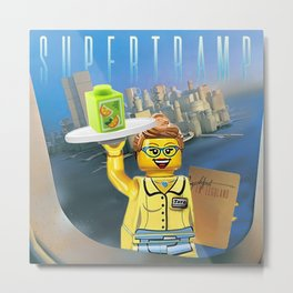 Breakfast in Legoland Metal Print
