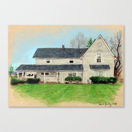 House Canvas Print