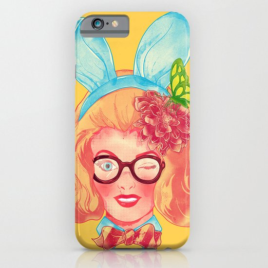 Lapin Belle iPhone & iPod Case