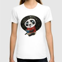 red panda T-shirts featuring Panda by gunberk