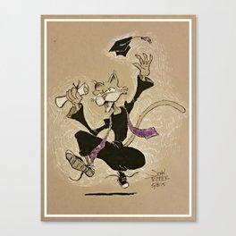 Graduation Artemas Canvas Print