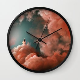 talking to God Wall Clock