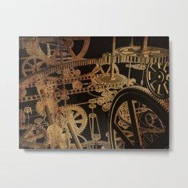 The Inner Workings Metal Print