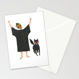 October: Fia and Wild Thing Stationery Cards