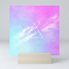 Pastel Galaxy Mini Art Print