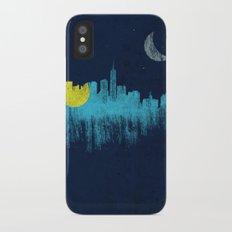 city that never sleeps iPhone X Slim Case