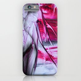 Open the curtain iPhone Case