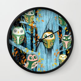 Overnight Owl Conference Wall Clock