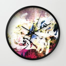 Violet Hill Wall Clock