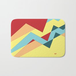 ABSTRACT PUZZLE #minimal #art #design #kirovair #buyart #decor #home Bath Mat