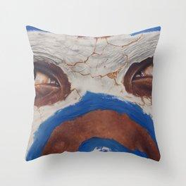 Tribal View Throw Pillow