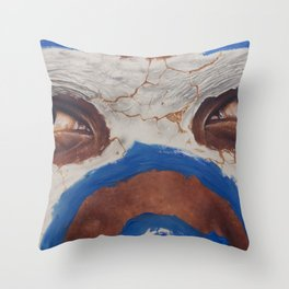 Tribal View Throw Pillow