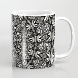 Monochrome Mandala Coffee Mug