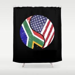 Foreigner Stranger USA Immigrant Shower Curtain