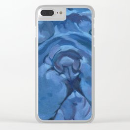 Khloe the Sharpei Portrait Clear iPhone Case