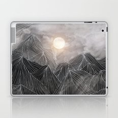 Lines in the mountains VIII Laptop & iPad Skin