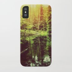 Mirror Pond Slim Case iPhone X