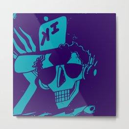 Esqueleto buena onda Metal Print