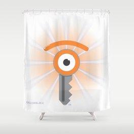 ilumination key[e] Shower Curtain