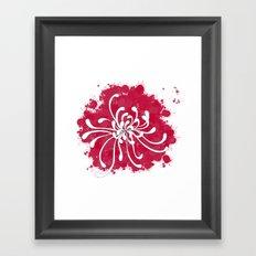 Chrysanthemum Framed Art Print