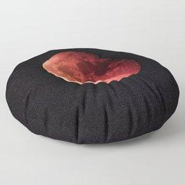 Blood Moon (Color) Floor Pillow