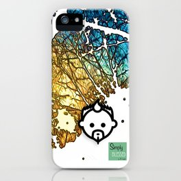 Snowburst by JC LOGAN 4 SB iPhone Case