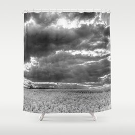 The Impending Storm Shower Curtain