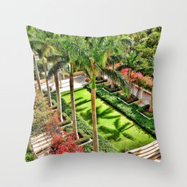 Palm Tree Lover Throw Pillow