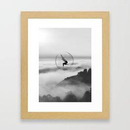 Evade Framed Art Print