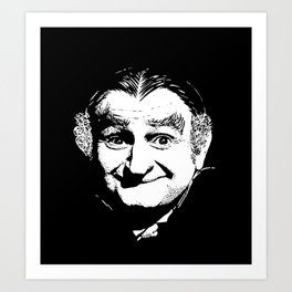 Grandpa Munster from the Munsters Art Print