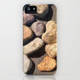 High Contrast Rocks iPhone Case