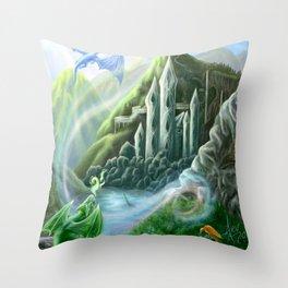 Prima Fiamma Throw Pillow