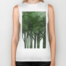Tree Impressions No.1C by Kathy Morton Stanion Biker Tank