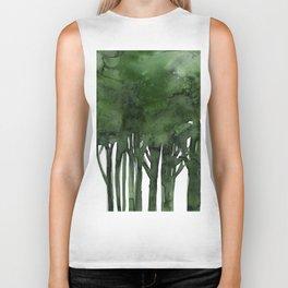 Tree Impressions No.1C by Kathy Morton Stanion Biker Tank