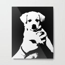 little cute puppy dog Metal Print