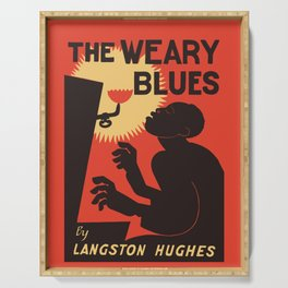 Retro The Weary Blues (music) Serving Tray